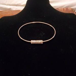 Jewelry - Large crystal bangle